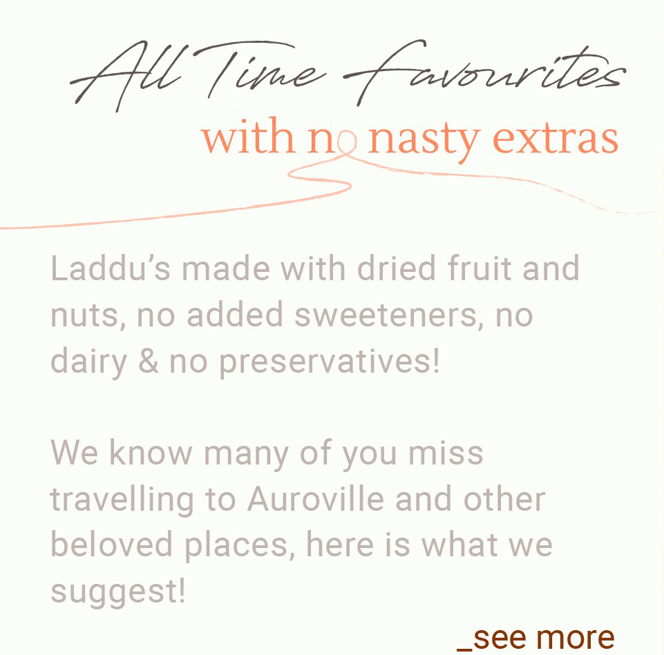 Auroville dried fruits and nuts sprouted almonds walnuts sunflower seeds pumpkin seeds