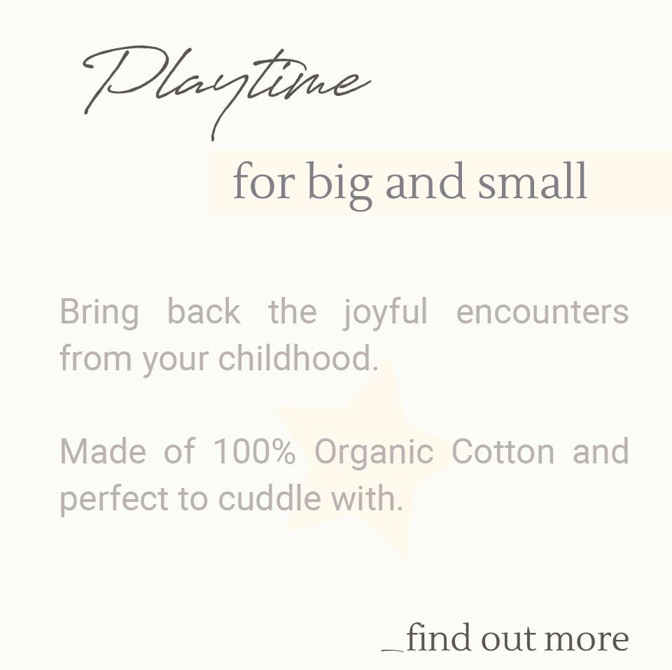 organic cotton Dolls from Auroville