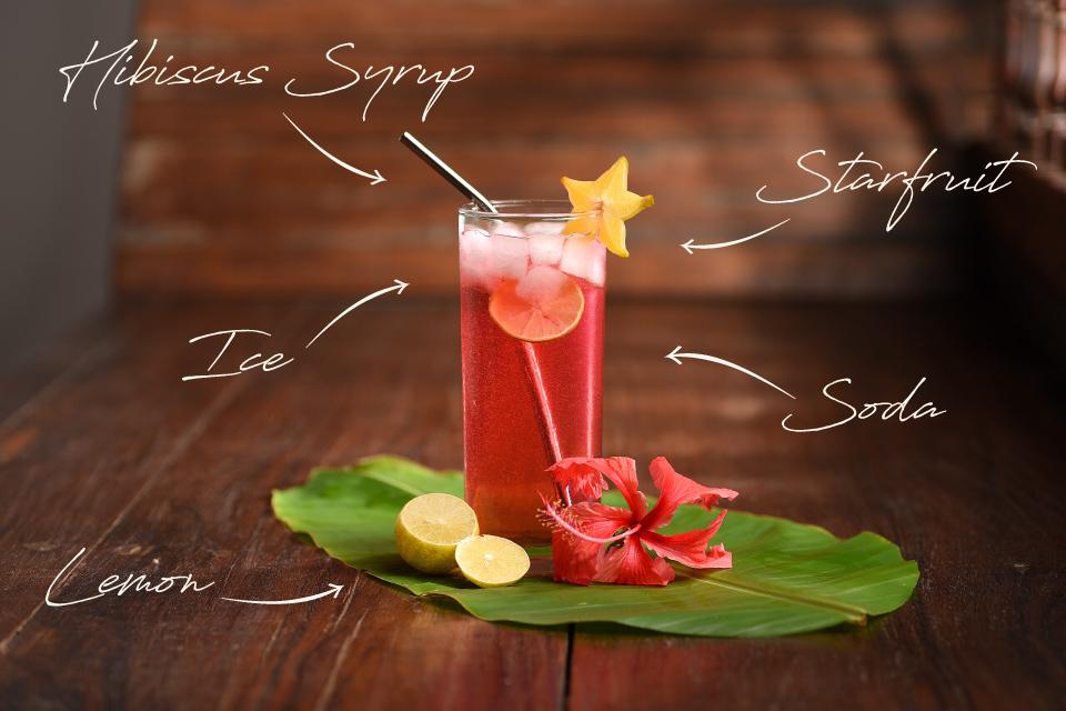 Auroville Handmade fruit syrups