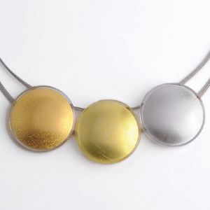 GOLD IN GLASS JEWELRY