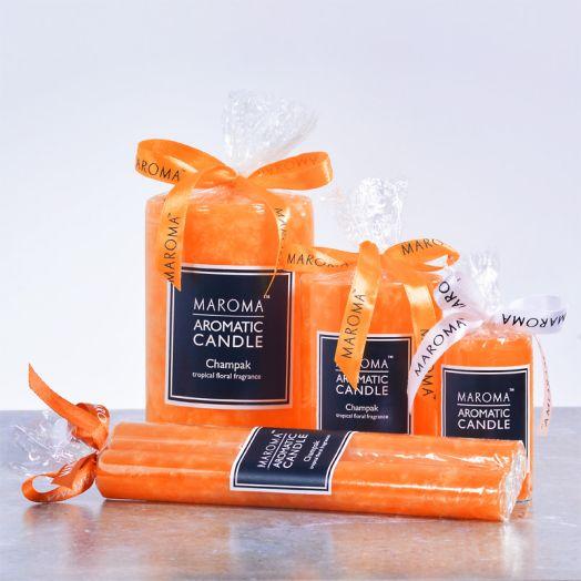 Perfumed Champak Candles