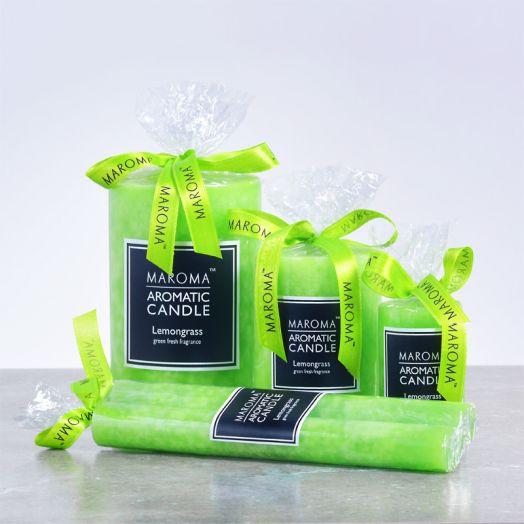 Perfumed Lemongrass Candles