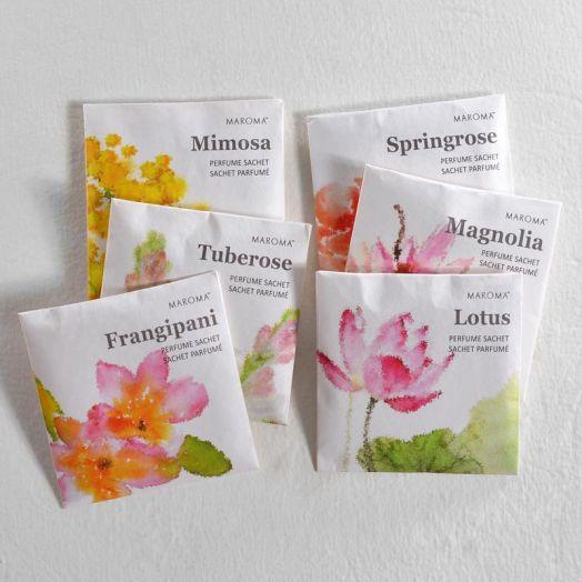 Flower perfume sachet