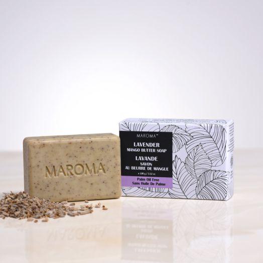 Gentle Scrub Mango Butter Soap - Lavender