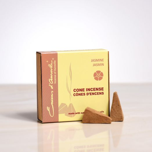 Encens d'auroville - Jasmine Cone Incense