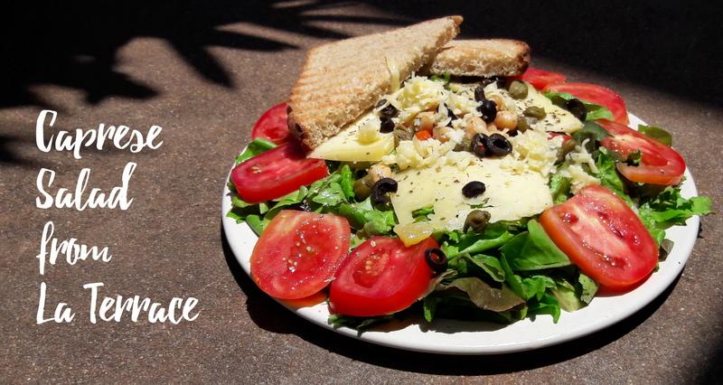 Caprese Salad A La Terrace