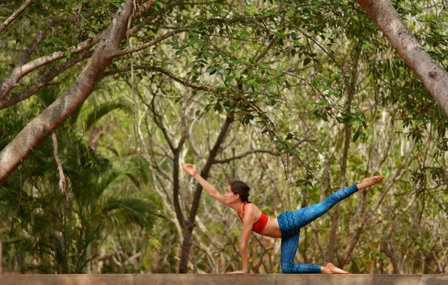 Yoga in Auroville
