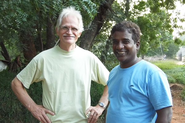 Meet Auroville: Benny and Arumugam from La Ferme Cheese