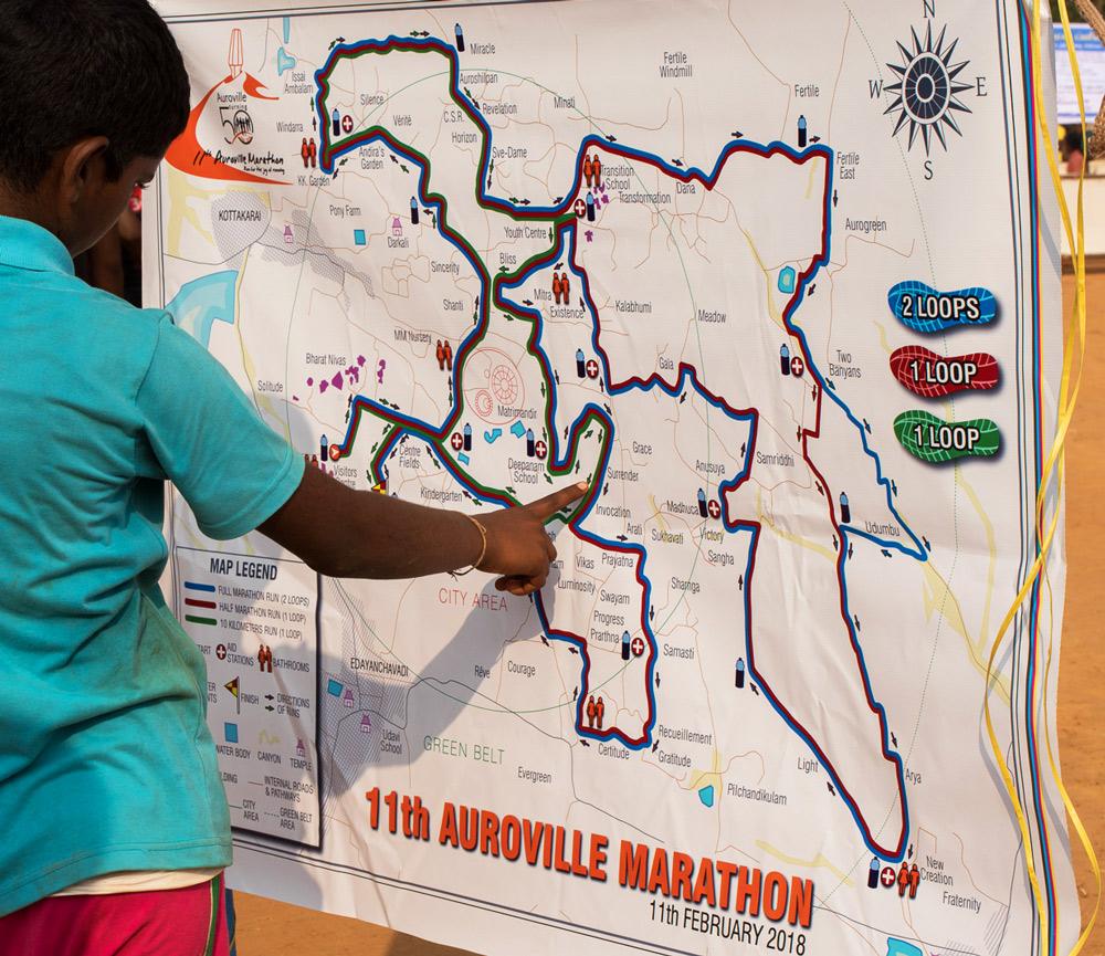 Auroville Marathon - 2018