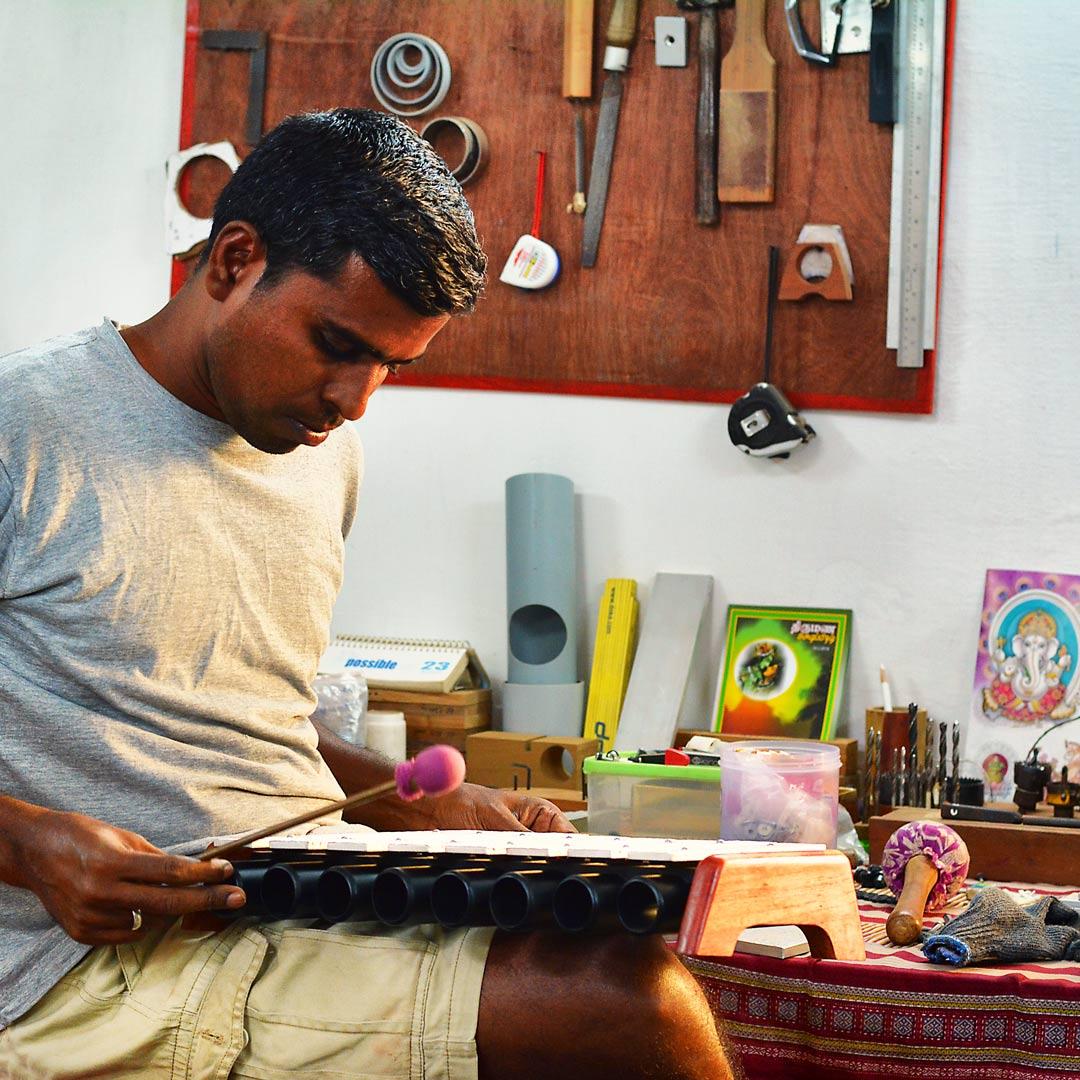 Svaram Auroville Tuning Xylophone