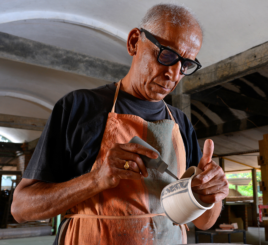 Meet Auroville: Angad from Mantra Pottery