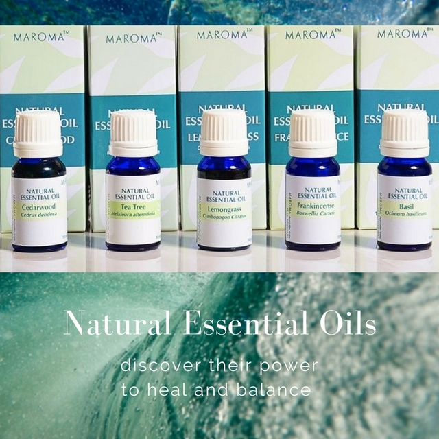 Natural essential oils and how to use them