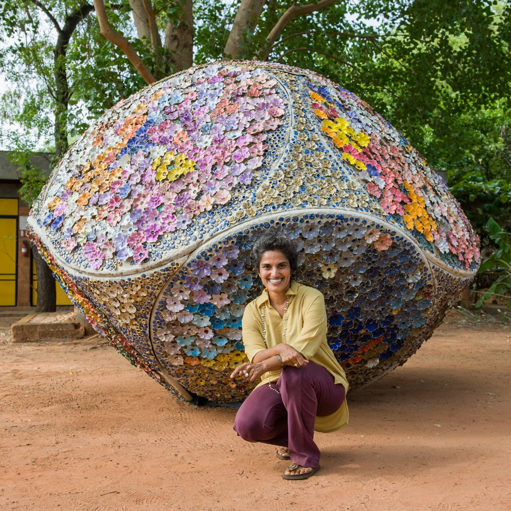 Artists of Auroville: Priya Sundaravalli