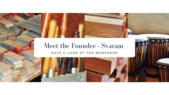 Meet Auroville: Aurelio the founder of Svaram