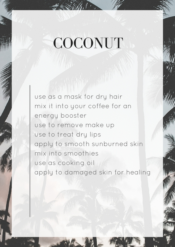 What to do with coconut