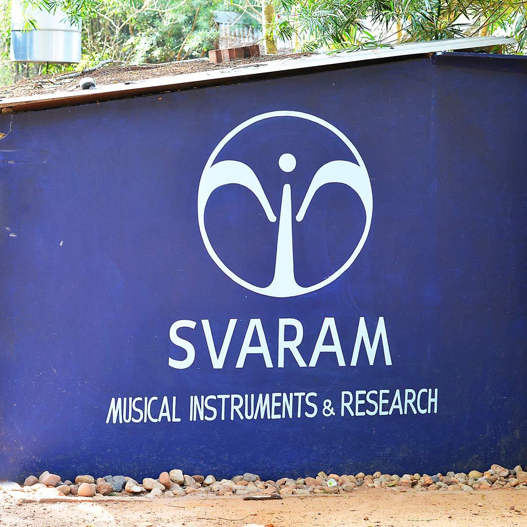 The svaram logo