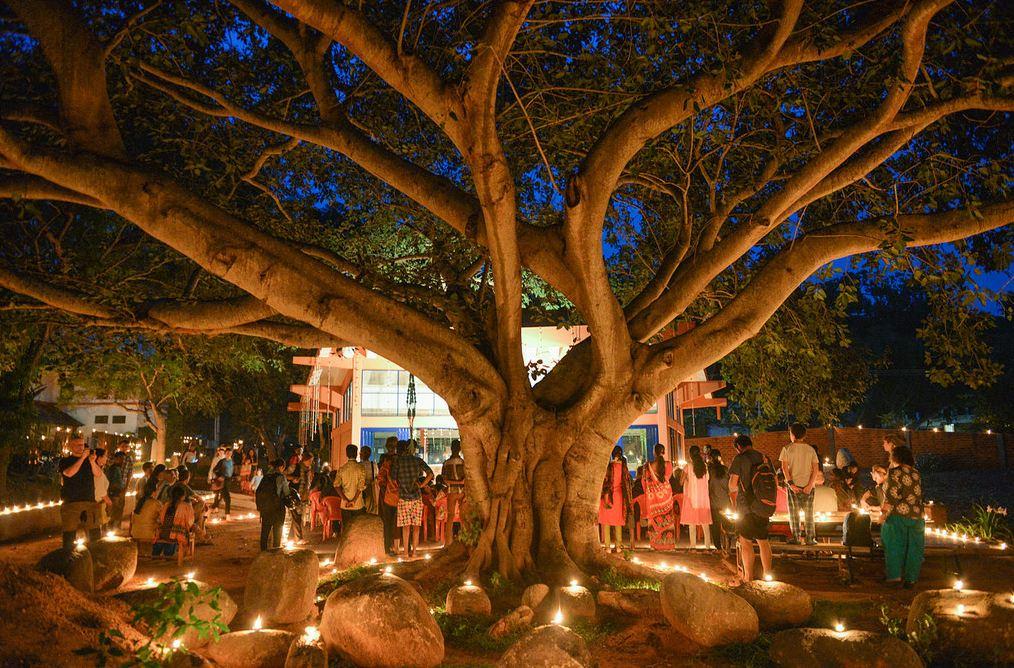 Deepam in Auroville