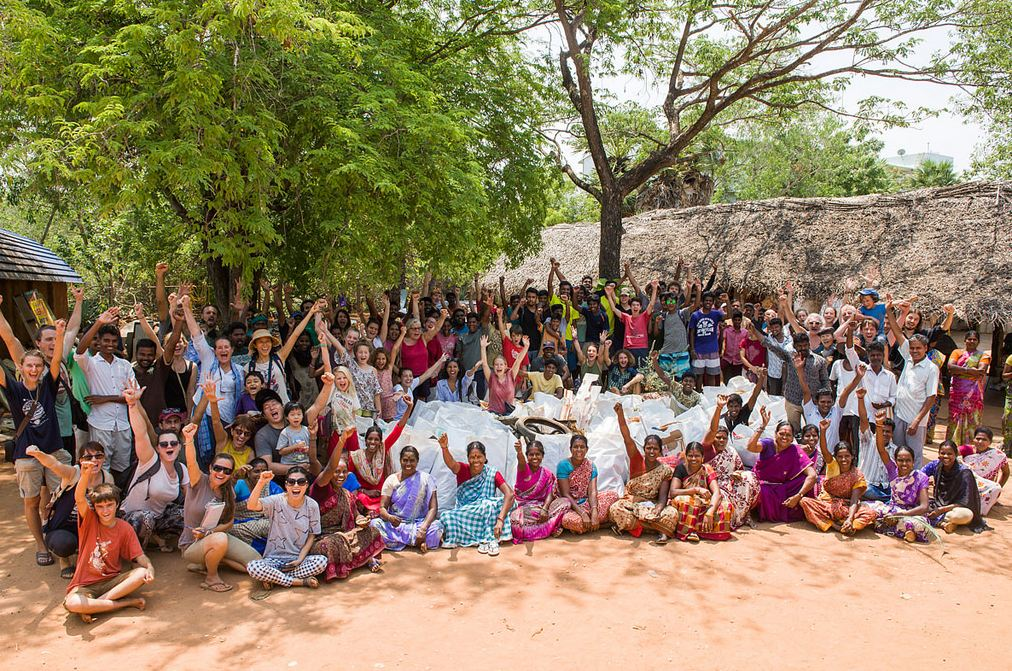 World Clean Up Day 2018 in Auroville