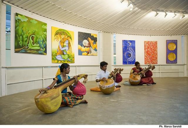 Veena concert in Auroville