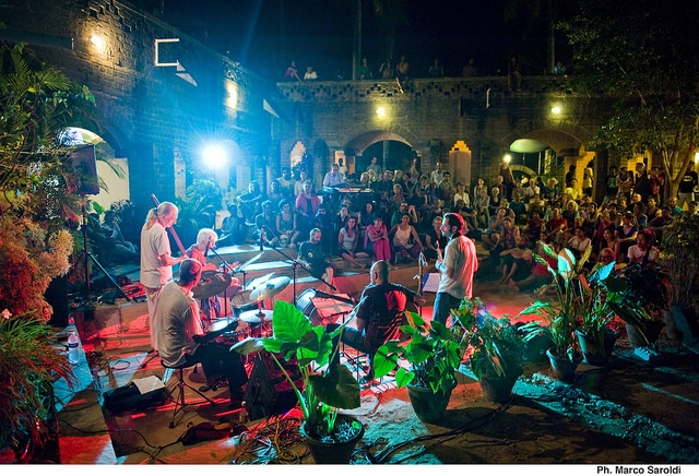 Concert in Auroville