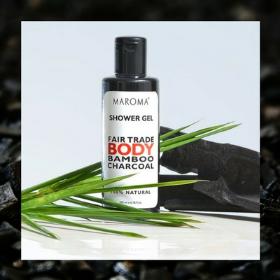charcoal body gel