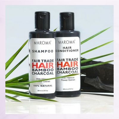 Charcoal Hair Care set
