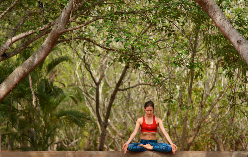 Meditation in Auroville