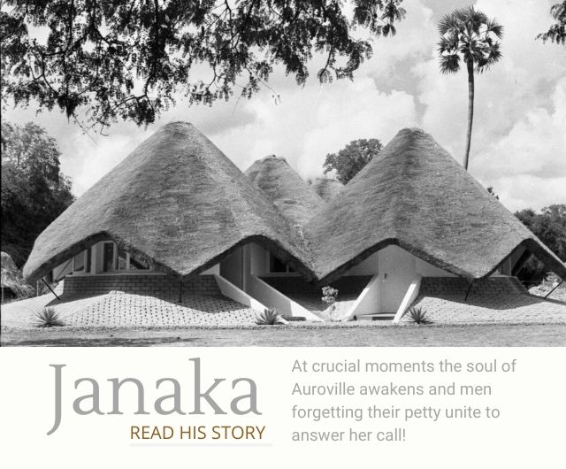 stories of auroville janaka