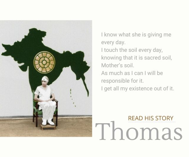 stories of auroville thomas